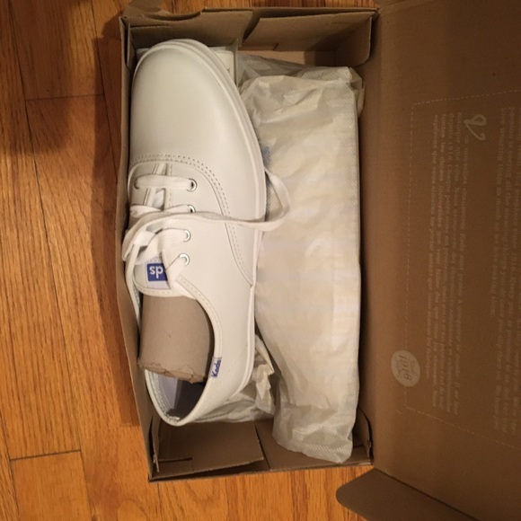 Classic Keds White Leather Champion sneakers - NEW